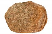 image of feldspar  - Arkose is a type of sandstone that contains lots of feldspar grains - JPG