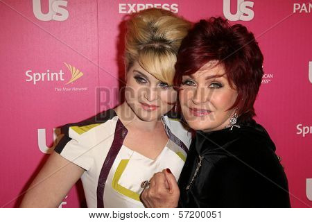 Kelly Osbourne and Sharon Osbourne at US Weekly's Hot Hollywood Event, Colony, Hollywood, CA. 11-18-10