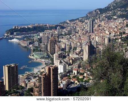Monte Carlo,Monaco,Panoramic View