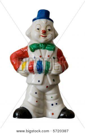 Clown Accordian Player