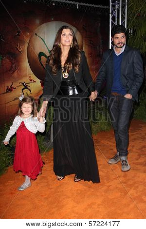 Ali Landry, Alejandro Monteverde and daughter at the