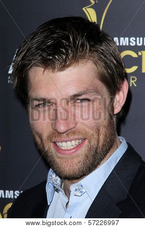 Liam McIntyre at the Australian Academy Of Cinema And Television Arts' 1st Annual Awards, Soho House, West Hollywood, CA 01-27-12