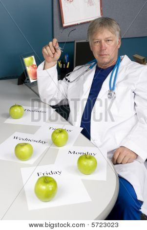 Doctor Plans His Healthy Diet