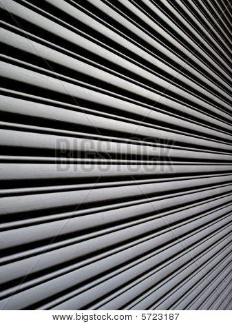Angular View Of Garage Door