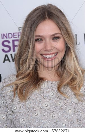 Elizabeth Olsen at the 2012 Film Independent Spirit Awards, Santa Monica, CA 02-25-12