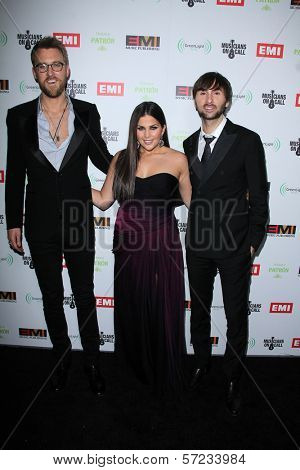 Lady Antebellum at the EMI Music 2012 Grammy Awards Party, Capital Records, Hollywood, CA 02-12-12