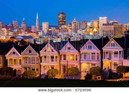 San Francisco in der Nacht