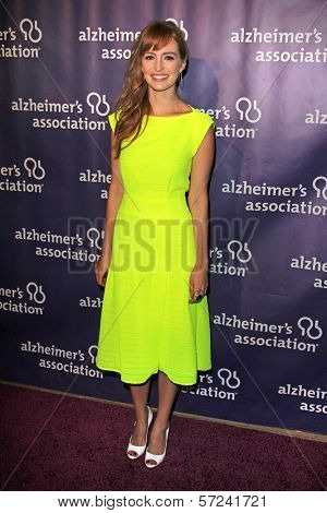 Ahna O'Reilly at the 20th Anniversary Alzheimer's Association