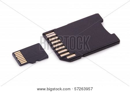 Memory Card (clipping Path)