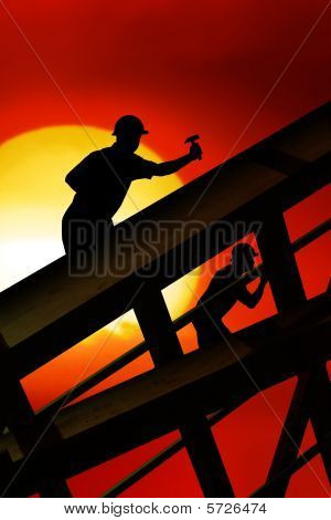 Roof Worker