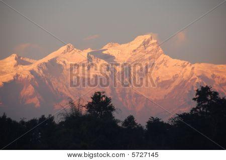 Annapurna Sonnenuntergang