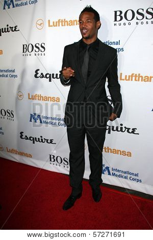 Marlon Wayans at the Esquire House LA Opening Night Event With International Medical Corps, Esquire House, Beverly Hills, CA. 10-15-10