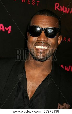 """Kanye West at the Los Angeles Premiere of Kanye West's film debut """"Runaway,"""" Harmony Gold, West Hollywood, CA. 10-18-10"""