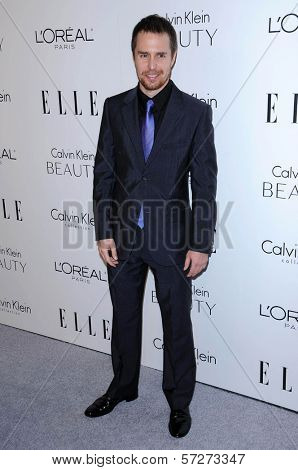 Sam Rockwell  at the  17th Annual Women in Hollywood Tribute, Four Seasons Hotel, Los Angeles, CA. 10-18-10