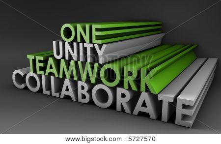 Teamwork-Einheit