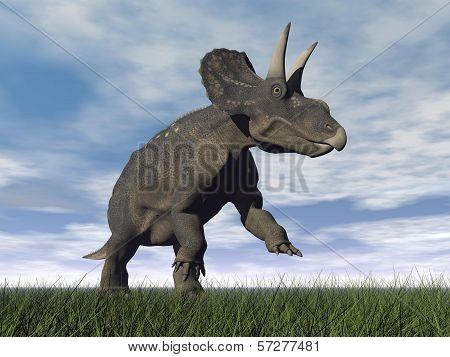 Diceratops dinosaur - 3D render
