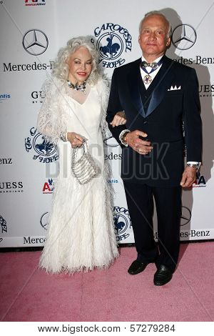 Buzz Aldrin and wife Lois at the 32nd Anniversary Carousel Of Hope Ball, Beverly Hilton Hotel, Beverly Hills, CA. 10-23-10
