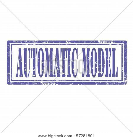Automatic Model-stamp