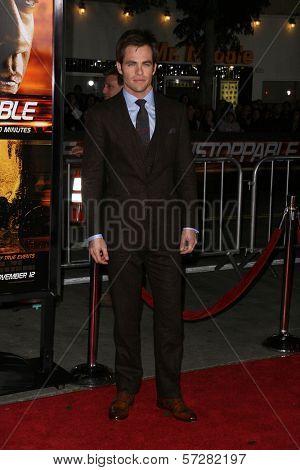 Chris Pine at the