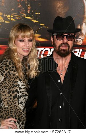 Dave Stewart, Anoushka Fisz at the