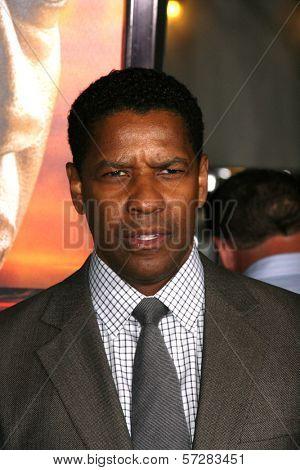 Denzel Washington  at the