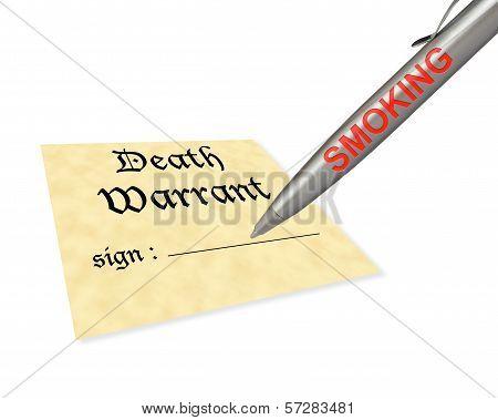 Death Warrant Smoking