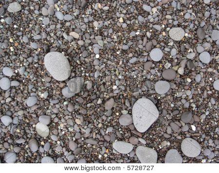 Rocks, Sand, And Pebbles