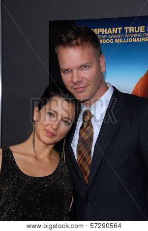 Jim Parrack, wife Ciera Parrack at the
