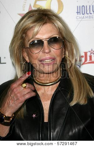 Nancy Sinatra at thr Hollywood Walk of Fame's 50th Birthday Bash,  Kodak Theater Grand Ballroom, Hollywood, CA. 11-03-10