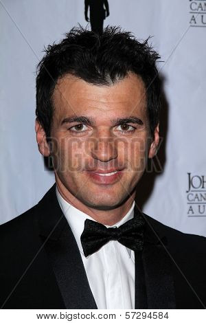 Tony Dovolani at the John Wayne Cancer Institute Auxiliary's 27th Annual Odyssey Ball, Beverly Hilton, Beverly Hills, CA 04-21-12