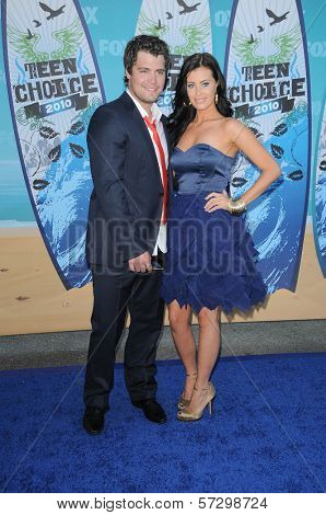 Levi Johnston and Brittani Senser at the 2010 Teen Choice Awards - Arrivals, Gibson Amphitheater, Universal City, CA. 08-08-10