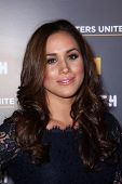 Meghan Markle at USA Network and Moth present