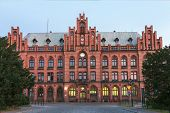 stock photo of old post office  - Sights of Poland - JPG