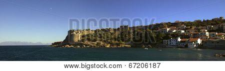 Koroni Castle In Messenia Peloponnese Greece