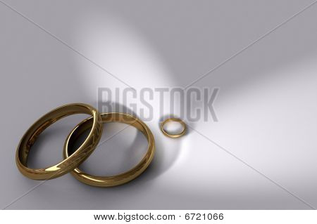 Three Wedding Rings