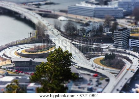 Miniature Bergen Roadworks