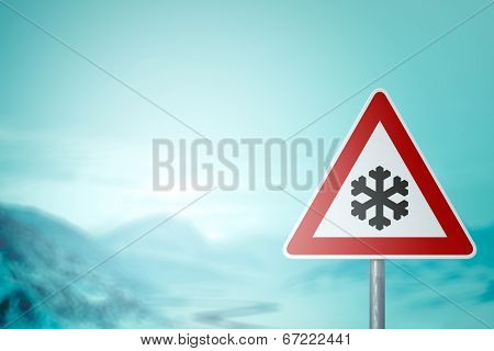 Caution snow