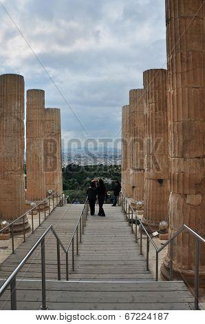Propylea Of Acropolis