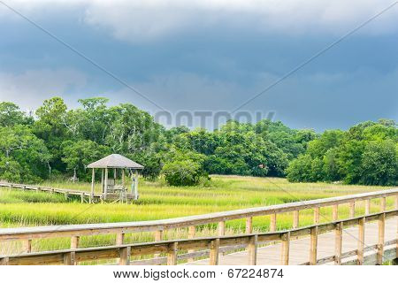 The Gazebo and the Walk