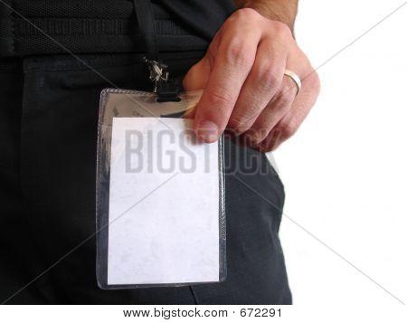 Blank Id Card - Male