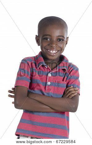 African Boy Smiling