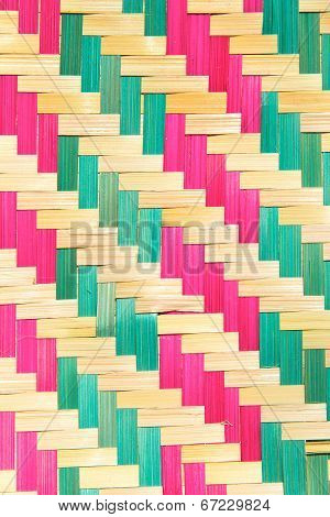 close up of bamboo wooden pattern texture