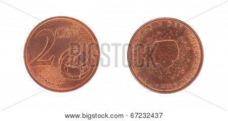 2 Euro Cent Coin