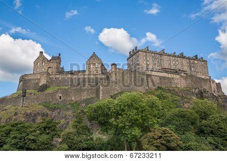 Edinburgh Castle on Castle Rock