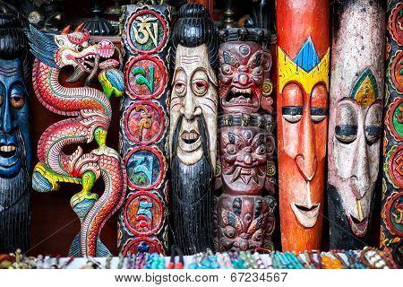 Souvenirs At Nepal Market