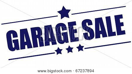 Garage Sale Stamp