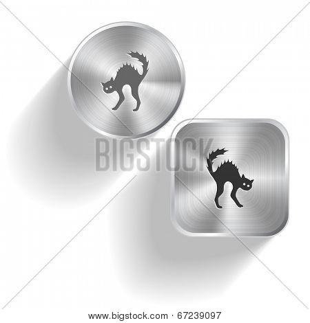 Cat. Raster set steel buttons