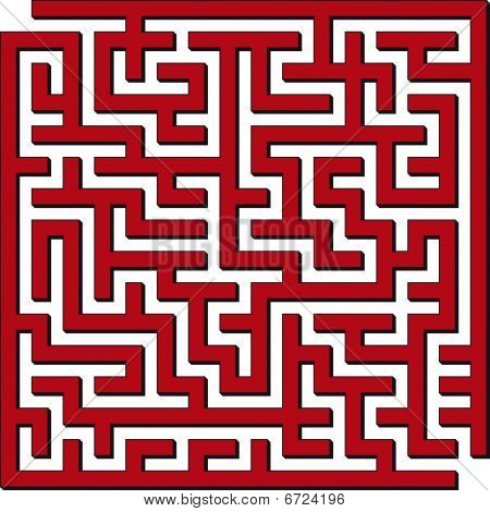 quadratische Labyrinth