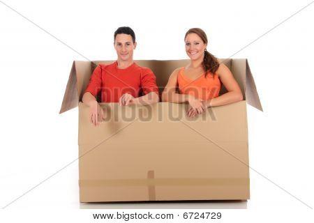 Chat-Box Freunde paar