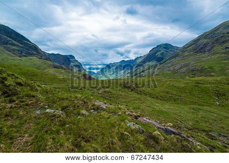 Beautiful Mountains of Glencoe
